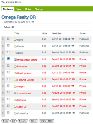 Omega realty cr