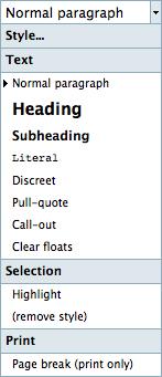 Using the Editor 2